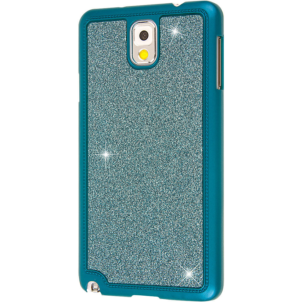 EMPIRE GLITZ Glitter Glam Case for Samsung Galaxy Note 3 Teal EMPIRE Electronic Cases