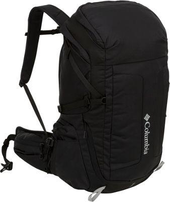 Columbia Sportswear Pine Hollow Daypack Black - Columbia Sportswear Day Hiking Backpacks