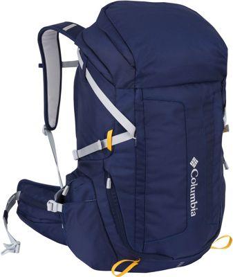 Columbia Sportswear Pine Hollow Daypack Collegiate Navy - Columbia Sportswear Day Hiking Backpacks