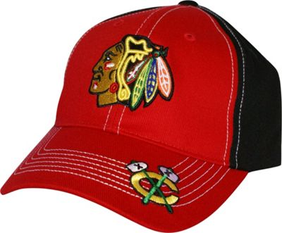 Fan Favorites NHL Revolver Cap One Size - Chicago Blackhawks - Fan Favorites Hats/Gloves/Scarves