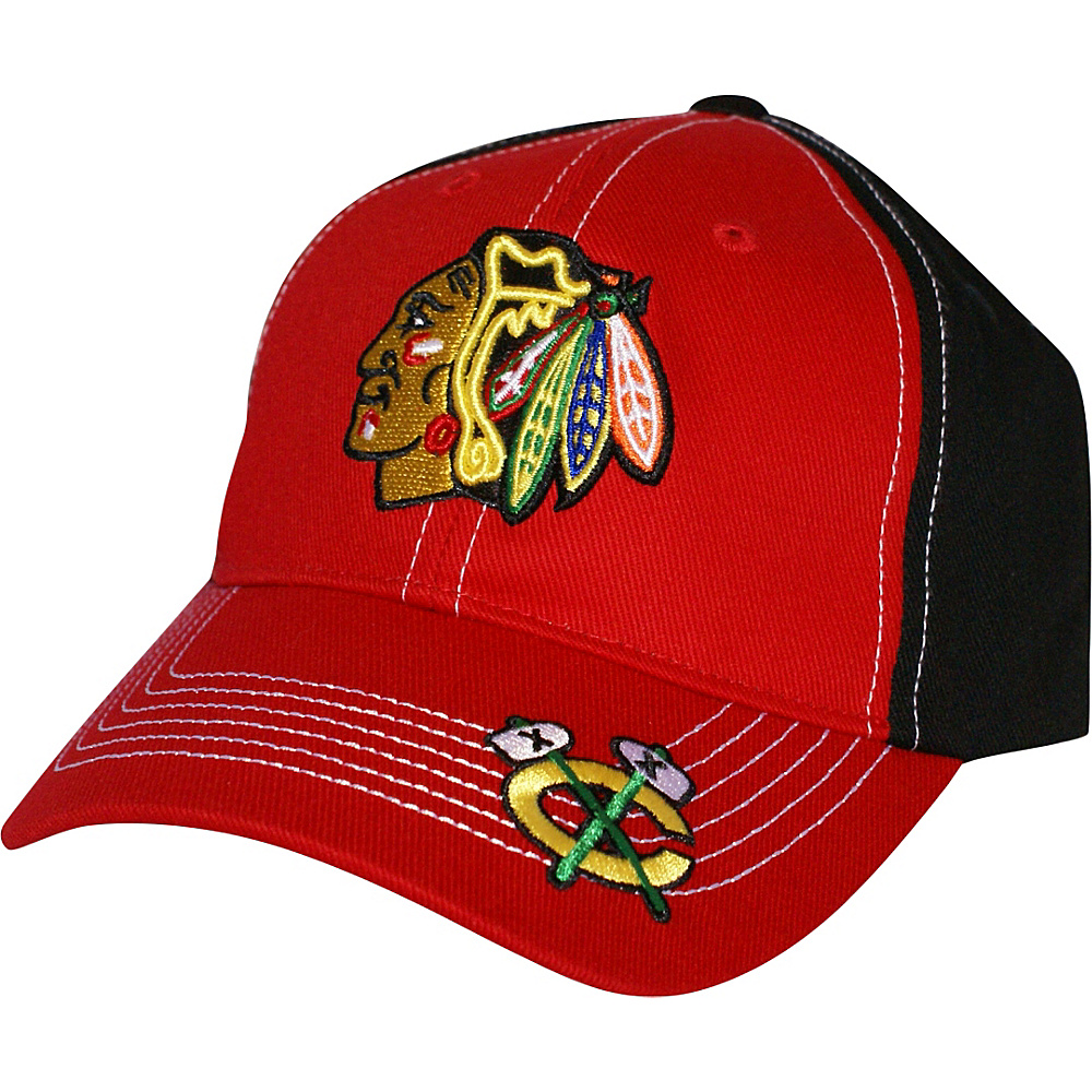 Fan Favorites NHL Revolver Cap Chicago Blackhawks Fan Favorites Hats Gloves Scarves