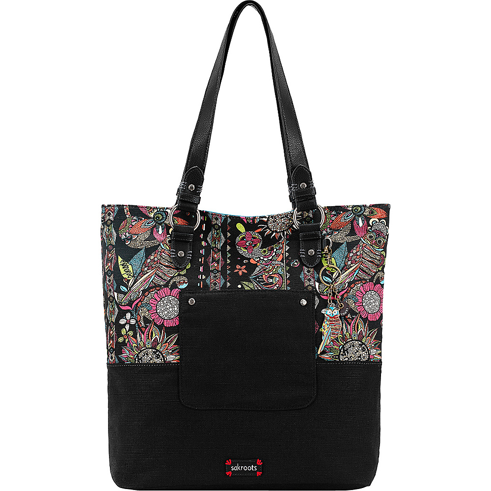 Sakroots Artist Circle Soft Tote Neon Spirit Desert - Sakroots Designer Handbags