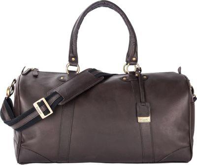Bugatti Perreira Duffle Bag Leather Cognac - Bugatti Travel Duffels