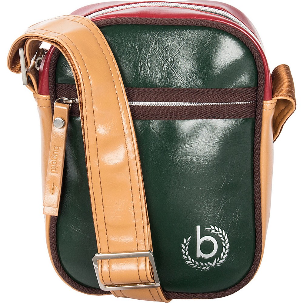 Bugatti Giocco Shoulder Bag Small Green Bugatti Other Men s Bags