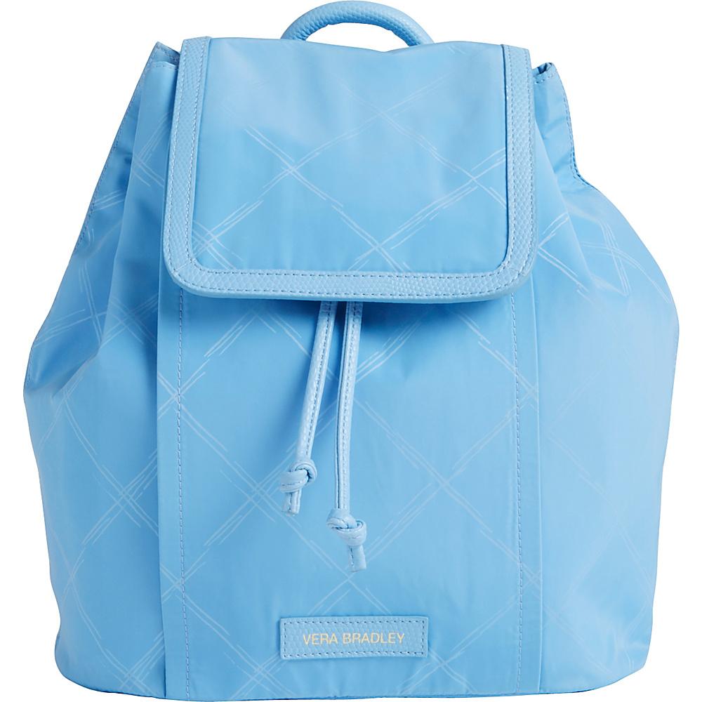 Vera Bradley Preppy Poly Backpack-Retired Prints Sky Blue - Vera Bradley Fabric Handbags