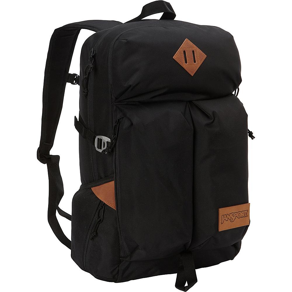 JanSport Bishop Laptop Backpack Black Ballistic Nylon - JanSport Laptop Backpacks - Backpacks, Laptop Backpacks