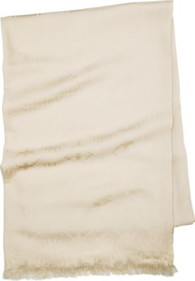 Pendleton Luxe Weave Wool Scarf Ivory - Pendleton Hats/Gloves/Scarves