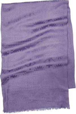 Pendleton Luxe Weave Wool Scarf Lavender - Pendleton Hats/Gloves/Scarves