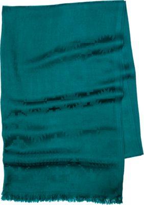 Pendleton Luxe Weave Wool Scarf Dark Teal - Pendleton Hats/Gloves/Scarves