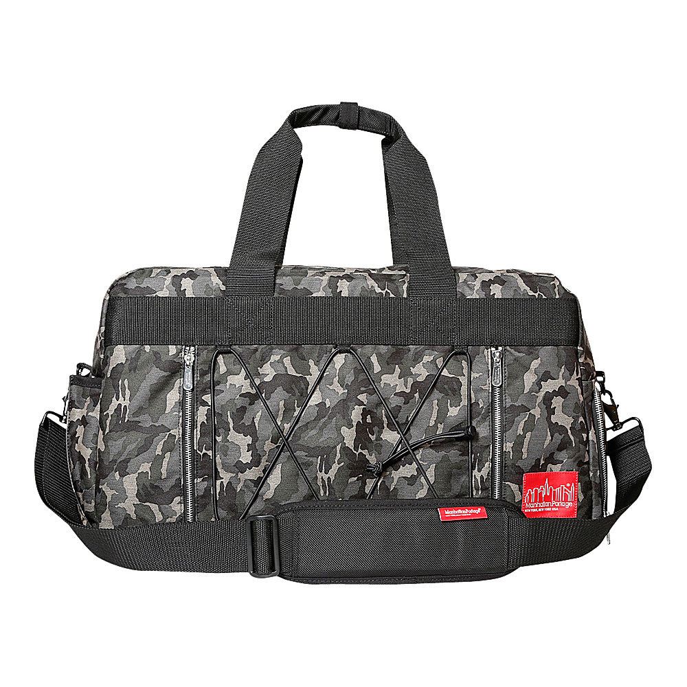 Manhattan Portage Twill Duffel Bag Camo - Manhattan Portage Travel Duffels - Duffels, Travel Duffels