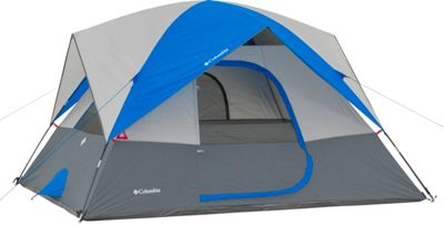 Columbia Sportswear Ashland 6 Person Tent Grey/Blue - Columbia Sportswear Outdoor Accessories
