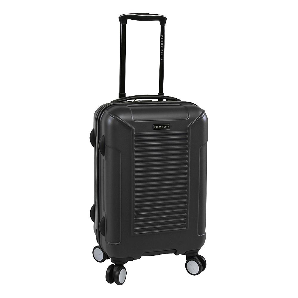 Perry Ellis Nova Hardside Spinner Carry-on Luggage Black - Perry Ellis Hardside Carry-On