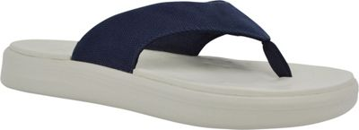 SoftScience Unisex Skiff Canvas Flip Flop Men's 7/Women's 9 - Blue - SoftScience Men's Footwear