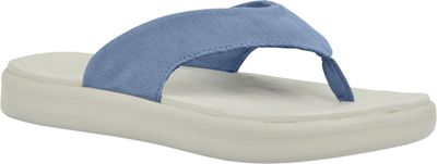 SoftScience Unisex Skiff Canvas Flip Flop Men's 11/Women's 13 - Light Blue - SoftScience Men's Footwear