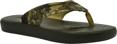 SoftScience Unisex Skiff Canvas Flip Flop Men's 9/Women's 11 - Mossy Oak - SoftScience Men's Footwear