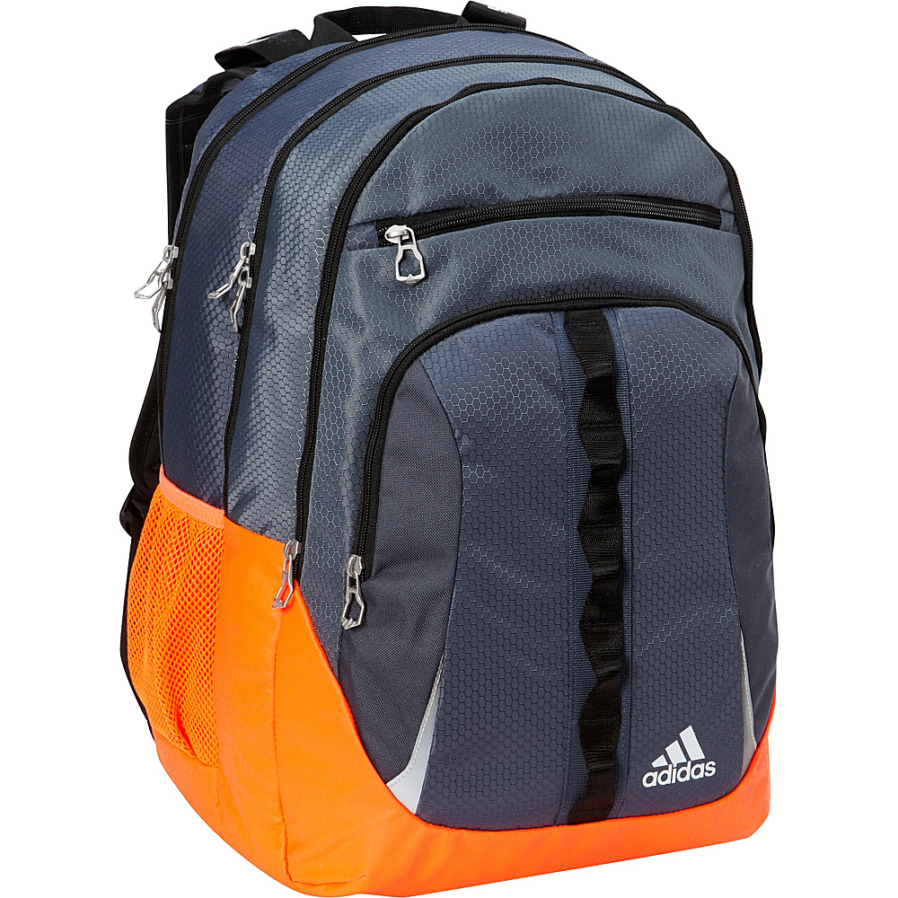 adidas Prime II Laptop Backpack Deepest Space/Solar Red/Black - adidas Laptop Backpacks