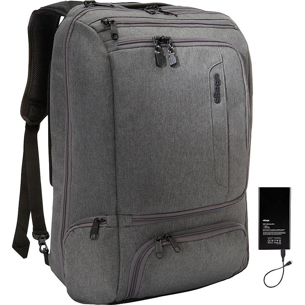 eBags Professional Weekender - LIFEBOAT EDITION Heathered Graphite - eBags Travel Backpacks