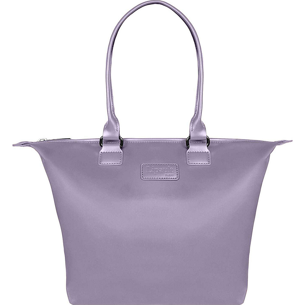 Lipault Paris Tote Bag Small Dark Lavender Lipault Paris Luggage Totes and Satchels