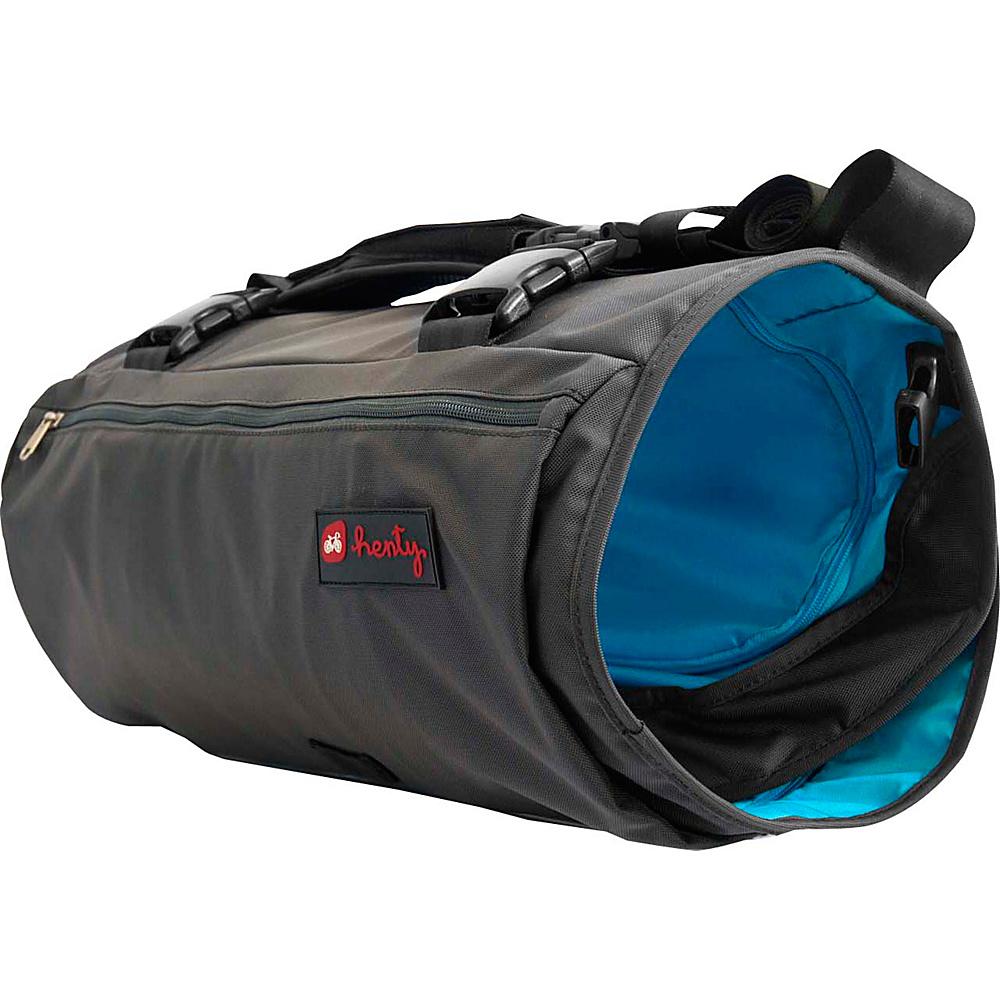 Henty Wingman Garment and Gym Bag Blue - Henty Gym Duffels