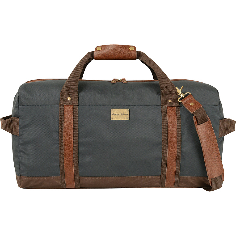 Tommy Bahama Island Swagger 23 Duffle Navy Brown Tommy Bahama Travel Duffels