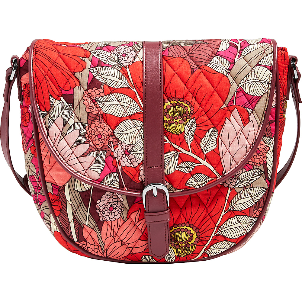 Vera Bradley Slim Saddle Bag - Retired Prints Bohemian Blooms - Vera Bradley Fabric Handbags - Handbags, Fabric Handbags