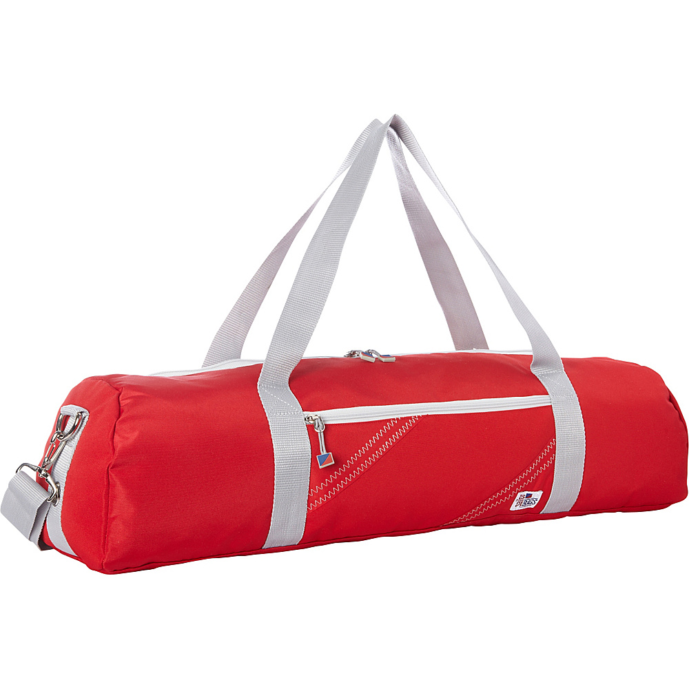 SailorBags Chesapeake Yoga Bag Red with Grey Trim SailorBags Other Sports Bags