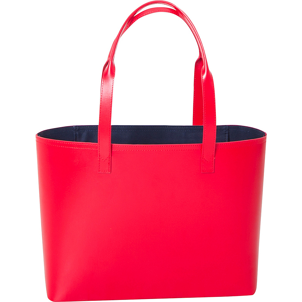 Paperthinks Small Tote Bag Scarlet Paperthinks Leather Handbags