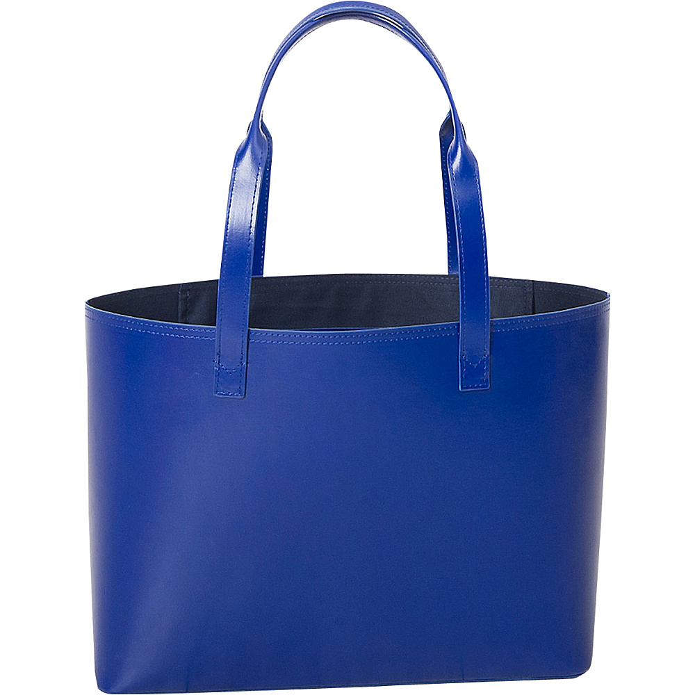 Paperthinks Small Tote Bag Navy Blue Paperthinks Leather Handbags