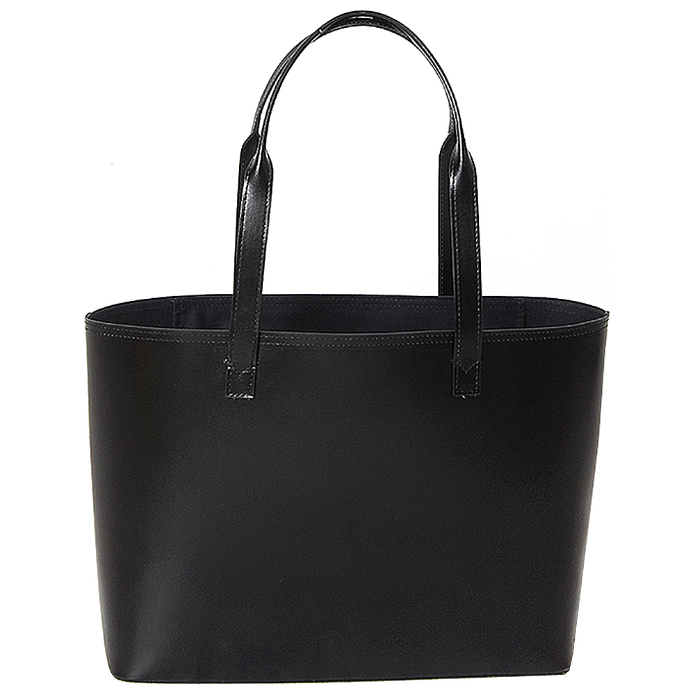 Paperthinks Small Tote Bag Black Paperthinks Leather Handbags