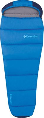 Columbia Sportswear Boys Mummy Bag 30 Degrees Hyper Blue - Columbia Sportswear Outdoor Accessories