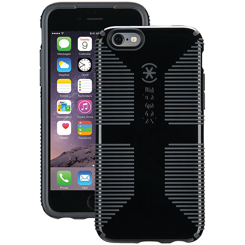 Speck IPhone 6 6s Candyshell Grip Case Black Slate Gray Speck Electronic Cases