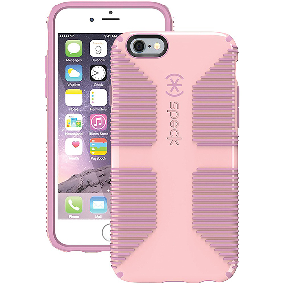 Speck IPhone 6 6s Candyshell Grip Case Quartz Pink Pale Rose Pink Speck Electronic Cases