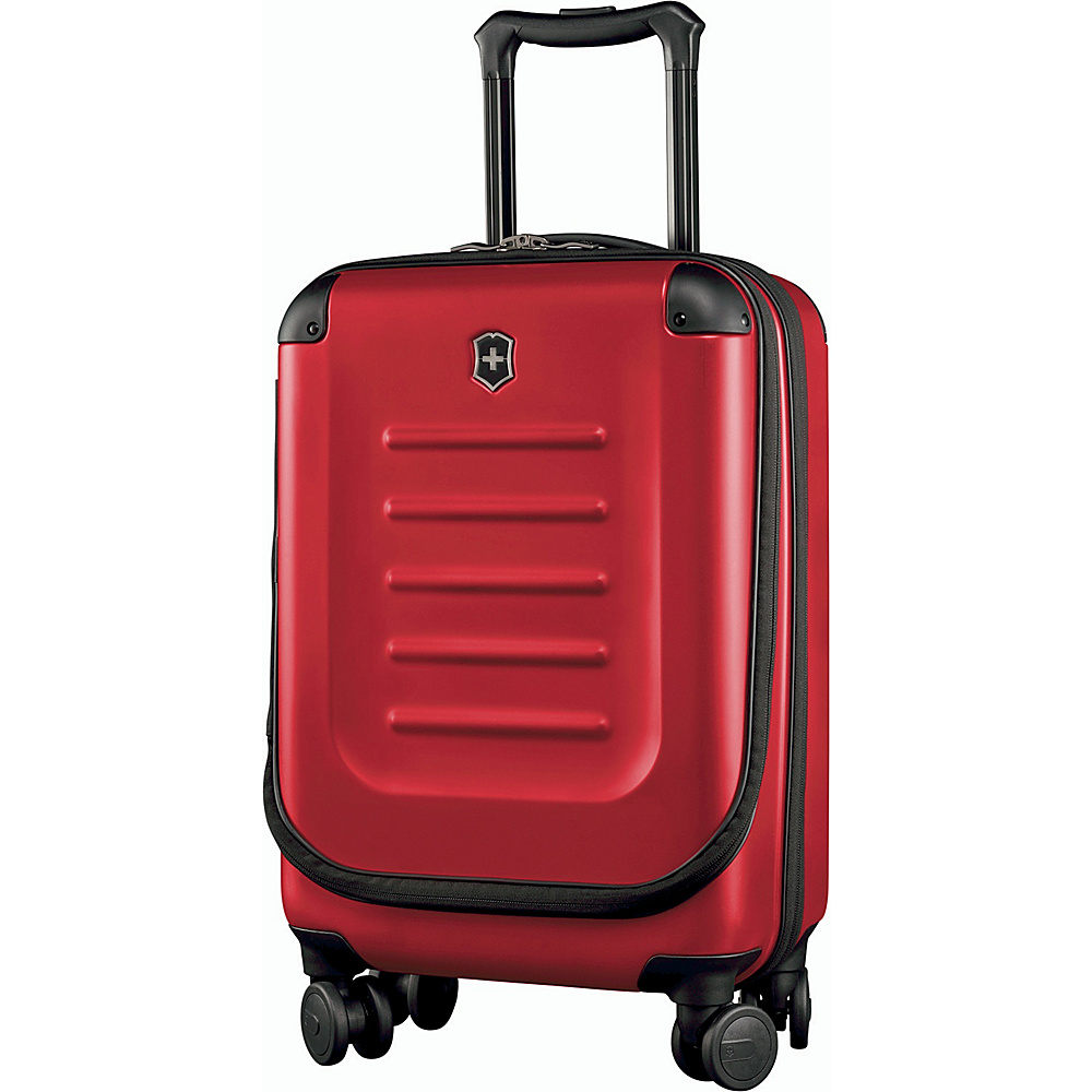 Victorinox Spectra 2.0 Expandable Compact Global Carry On Red - Victorinox Softside Carry-On