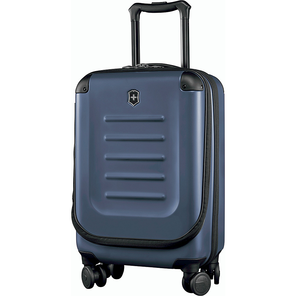 Victorinox Spectra 2.0 Expandable Compact Global Carry On Navy - Victorinox Softside Carry-On