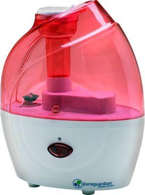 Germ Guardian 10-Hour Nursery Ultrasonic Cool Mist Humidifier Pink - Germ Guardian Travel Comfort and Health