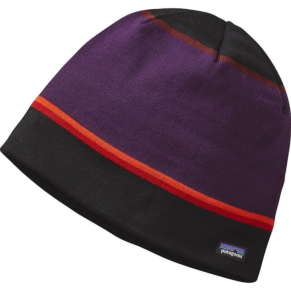Patagonia Beanie Hat One Size - Coastline Stripe: Black - Patagonia Hats/Gloves/Scarves - Fashion Accessories, Hats/Gloves/Scarves