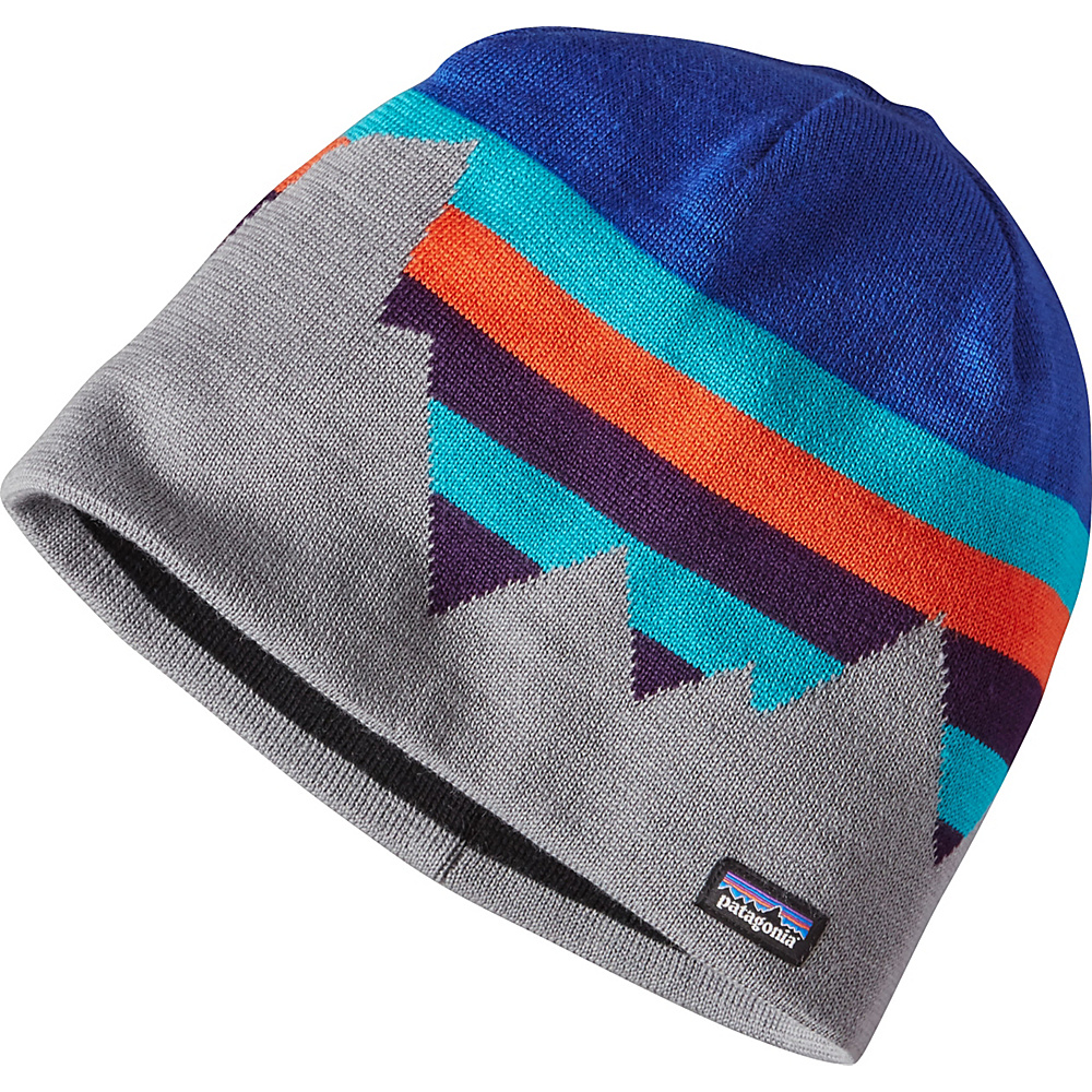Patagonia Beanie Hat One Size - Fitz Formation: Harvest Moon Blue - Patagonia Hats/Gloves/Scarves - Fashion Accessories, Hats/Gloves/Scarves