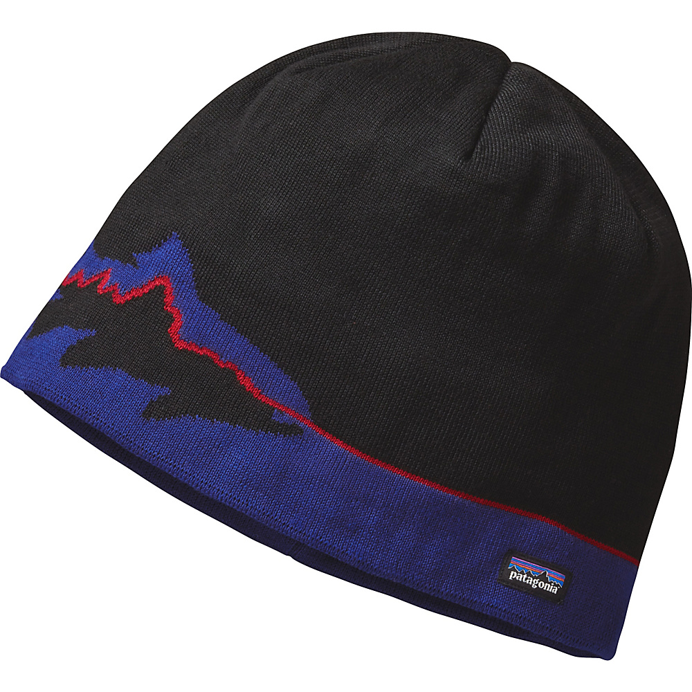 Patagonia Beanie Hat One Size - Fitz Trout: Black - Patagonia Hats/Gloves/Scarves - Fashion Accessories, Hats/Gloves/Scarves