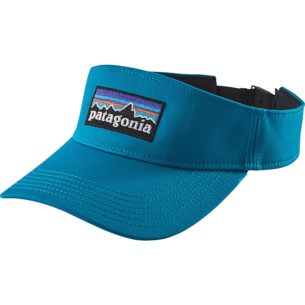 Patagonia P-6 Logo Visor One Size - Grecian Blue - Patagonia Hats/Gloves/Scarves - Fashion Accessories, Hats/Gloves/Scarves