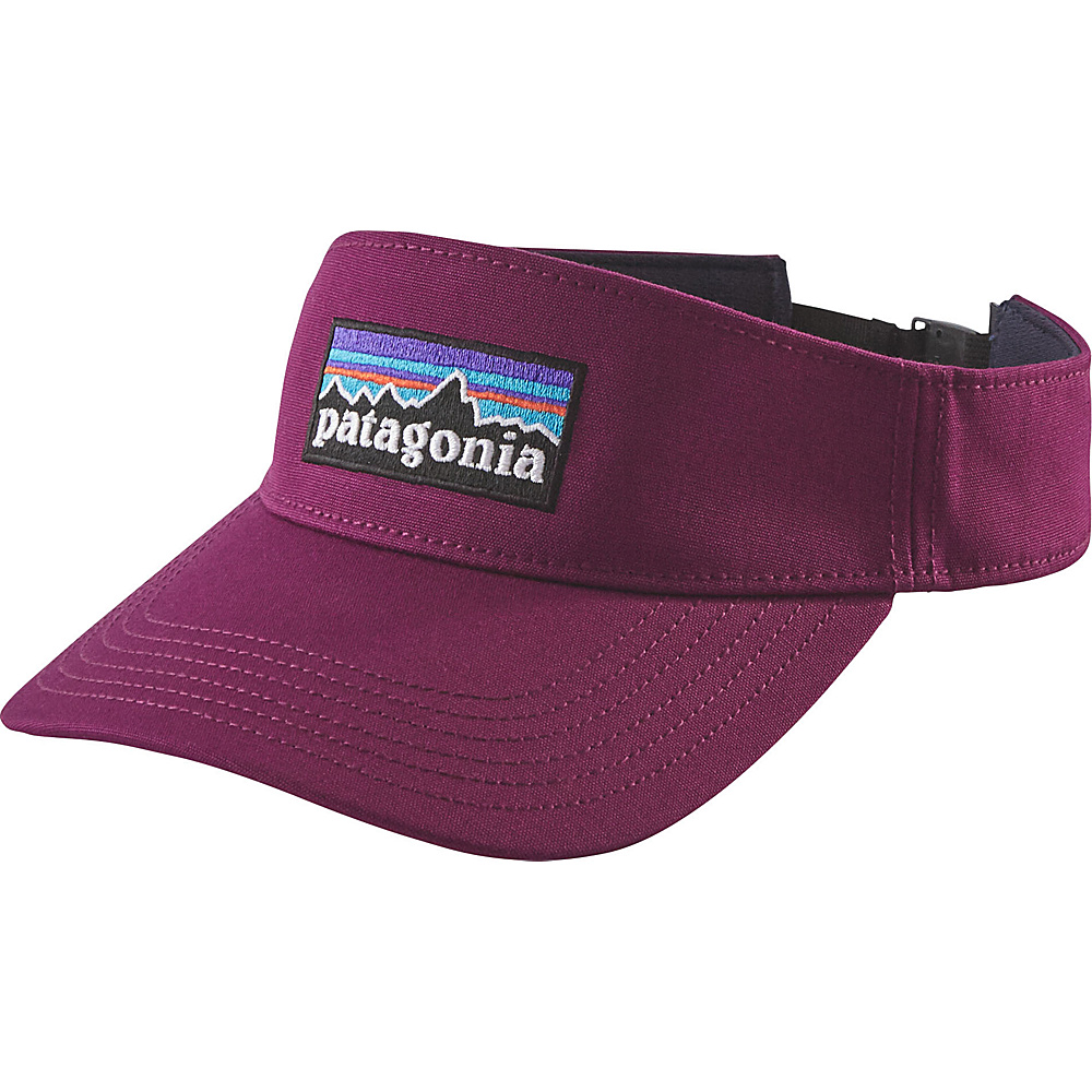 Patagonia P-6 Logo Visor One Size - Violet Red - Patagonia Hats/Gloves/Scarves - Fashion Accessories, Hats/Gloves/Scarves