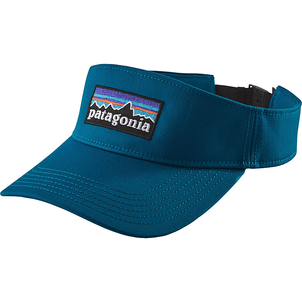 Patagonia P-6 Logo Visor One Size - Big Sur Blue - Patagonia Hats/Gloves/Scarves - Fashion Accessories, Hats/Gloves/Scarves