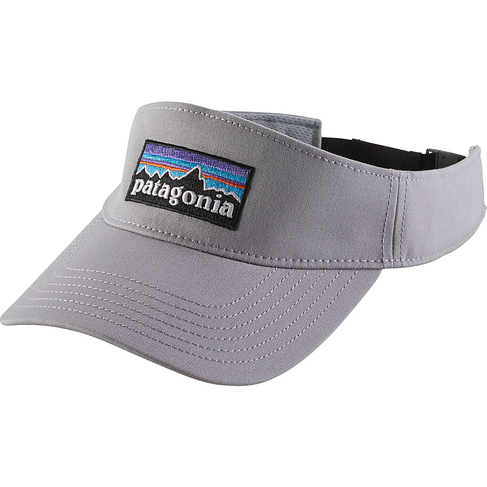 Patagonia P-6 Logo Visor One Size - Drifter Grey - Patagonia Hats/Gloves/Scarves - Fashion Accessories, Hats/Gloves/Scarves