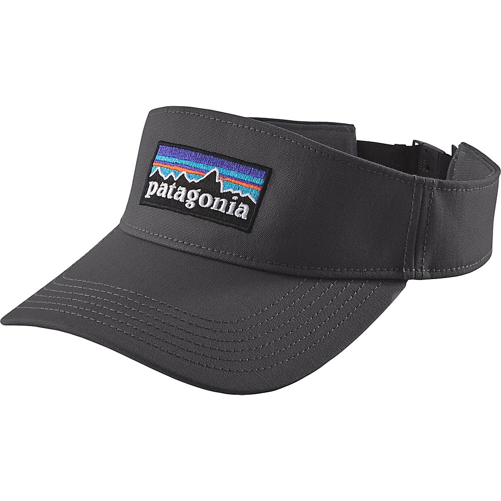 Patagonia P-6 Logo Visor One Size - Forge Grey - Patagonia Hats/Gloves/Scarves - Fashion Accessories, Hats/Gloves/Scarves