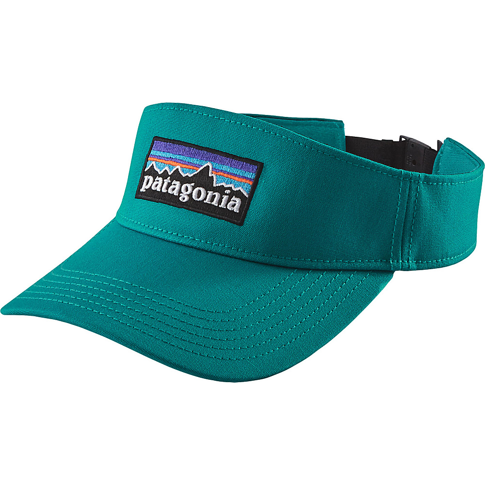 Patagonia P-6 Logo Visor One Size - True Teal - Patagonia Hats/Gloves/Scarves - Fashion Accessories, Hats/Gloves/Scarves