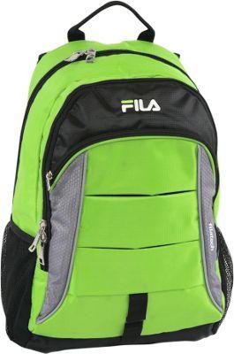 Fila Exit Laptop Backpack Neon Lime - Fila Everyday Backpacks