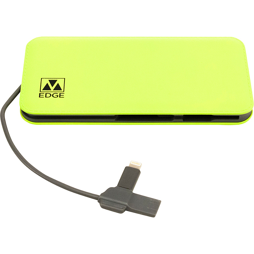 M Edge 8000 mAh Backup Battery Lime M Edge Portable Batteries Chargers