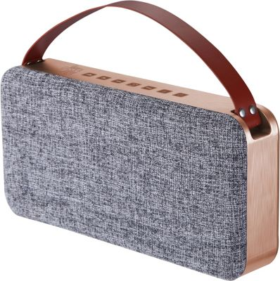 FRESHeTECH June and May Portable Sound Speaker Metalic - FRESHeTECH Headphones & Speakers 10463052