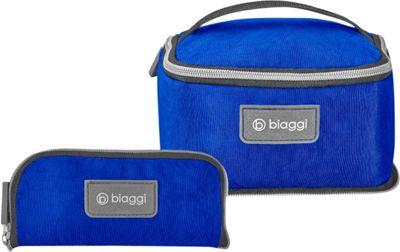 biaggi Zipsak Microfold Travel Essentials Bag Cobalt Blue - biaggi Toiletry Kits