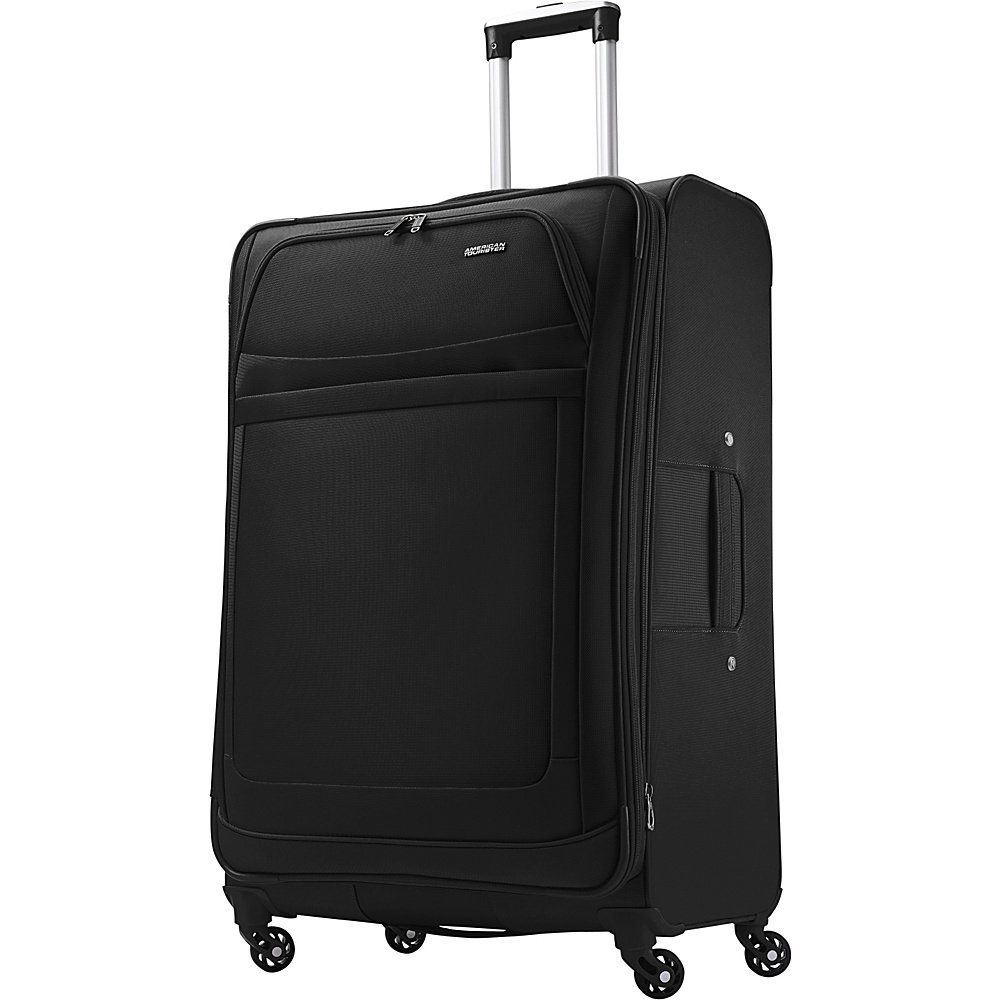 American Tourister iLite Max Spinner 29 Black American Tourister Softside Checked