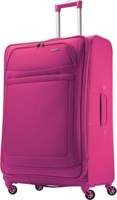 American Tourister iLite Max Spinner 29 Raspberry - American Tourister Softside Checked